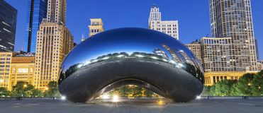Wolkenpoort, Chicago, de V.S. royalty-vrije stock afbeelding