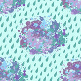 Wolkenregen stock illustratie