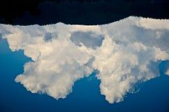 Wolkenschatten Stockfoto