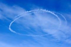 Wolkenschleife Stockbilder