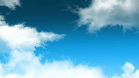 Wolkenschleife 01 stock video