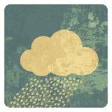 Wolkenschmutzikone Lizenzfreie Stockfotos