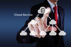 Wolkenservice Lizenzfreies Stockfoto