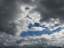 Wolkenspiel Royalty Free Stock Photography
