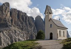 Wolkenstein - Dolomites Stock Images