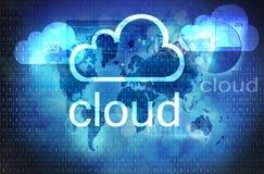 Wolkentechnologie Stock Afbeeldingen
