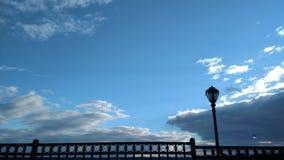Wolkentreffen Sonnenschein Lizenzfreie Stockfotografie
