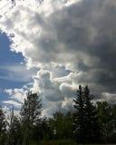 Wolkenvorming Stock Foto