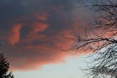 Wolkenvormingen Stock Afbeeldingen
