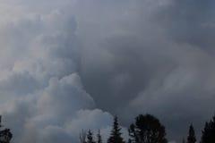Wolkenvormingen Royalty-vrije Stock Foto's