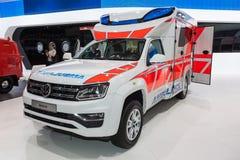 Wolkswagen Amarok Amubulance Fotografia Stock