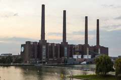 Wolkswagen fabryka w Wolfsburg, Niemcy Obrazy Royalty Free