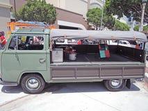 Wolkswagen furgonetka Zdjęcia Royalty Free