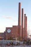 Wolkswagen roślina Wolfsburg zdjęcia stock