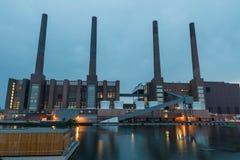 Wolkswagen roślina Wolfsburg fotografia stock