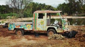 Wolkswagena autobus Zdjęcia Royalty Free
