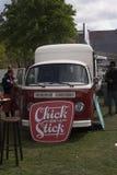 Wolkswagena t2 jedzenia ciężarówka w Amsterdam Obraz Stock
