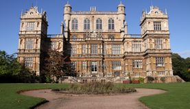wollaton de Nottingham R-U de hall Photos stock
