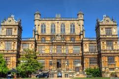 Wollaton Hall и парк Ноттингем Ноттингем, Великобритания, Англия стоковая фотография rf