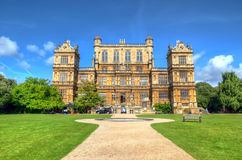 Wollaton Hall и парк Ноттингем Ноттингем, Великобритания, Англия стоковая фотография rf