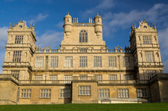 Wollaton Hall in Nottingham England. An architectural detail of Wollaton Hall in Nottingham, United Kingdom. The stately home was constructed between 1580 and Stock Photography