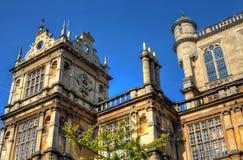 Wollaton Hall Nottingham Nottingham i park, UK, Anglia Zdjęcie Stock