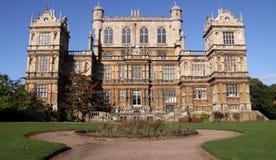 Wollaton Hall nottingham uk. An elizabethan mansion stock photos