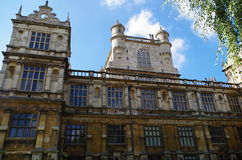Wollaton hall Nottingham UK royalty free stock photos