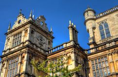 Wollaton Hall och parkerar Nottingham Nottingham, UK, England Arkivfoto
