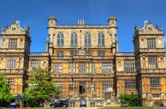 Wollaton Hall and Park Nottingham Nottingham, UK, England.  Royalty Free Stock Photography