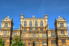 Wollaton Hall and Park Nottingham Nottingham, UK, England.  Royalty Free Stock Photos