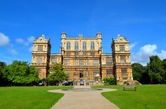 Wollaton Hall and Park Nottingham Nottingham, UK, England.  royalty free stock image