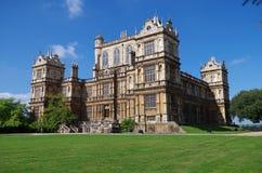 Wollaton Salão nottingham Reino Unido imagens de stock royalty free