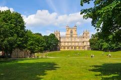 Wollaton-Schloss in Nottingham, Vereinigtes Königreich stockfotos