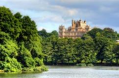 Wollatonzaal en Park Nottingham Nottingham, het UK, Engeland royalty-vrije stock fotografie