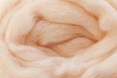 Wolle für Filzstoff Stockfotografie