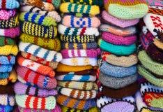 Wollekleidungshintergrund Stockfotografie