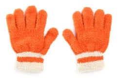 Wollen handschoen Royalty-vrije Stock Afbeeldingen