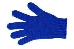 Wollen handschoen stock foto