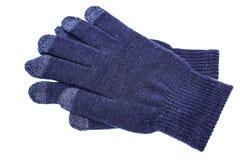 Wollen handschoenen Royalty-vrije Stock Foto