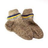 Wollen sokken Stock Fotografie
