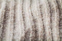 Wollestrickjackebeschaffenheit stockbild