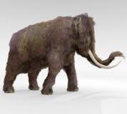 Wollige Mammoet stock illustratie
