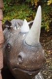 Wollige Rinoceros - Coelodonta-antiquitatis Stock Afbeeldingen