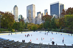 Wollman Rink Royalty Free Stock Image
