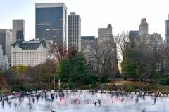 Wollman Skating Rink - Central Park - NYC Royalty Free Stock Photo