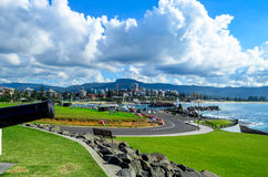 Wollongong Australia. View of the city Wollongong Australia royalty free stock photography