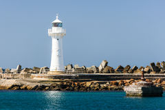 Wollongong falochronu latarnia morska, Australia Obraz Royalty Free