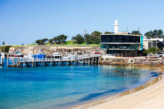 Wollongong-Hafen, Australien Lizenzfreies Stockbild