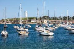 Wollongong-Hafen, Australien Stockfotos